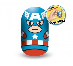 Marvel Puniz Squishy Battle   Captain America