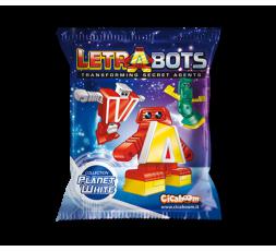 Letrabots Planet White | A Aton