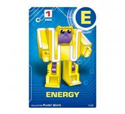 Letrabots Planet White | E Energy