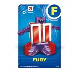 Letrabots Planet White | F Fury