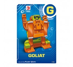 Letrabots Planet White   G Goliat