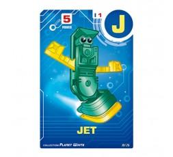 Letrabots Planet White | J Jet