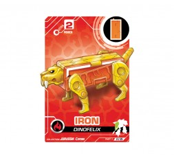 Letranimal Jurassik Combo | I Iron