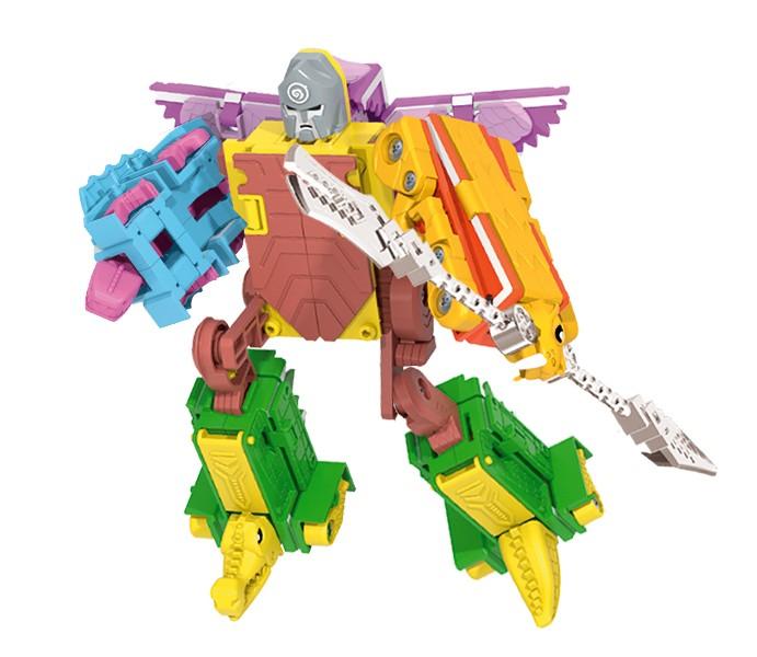 Letranimal Jurassik Combo   Big Robot Bearius