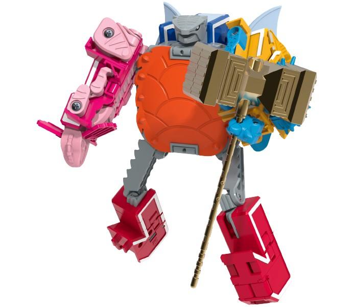Letranimal Jurassik Combo   Big Robot Testudon