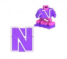Letrabots Combo Big Robot MOK   N Nebula