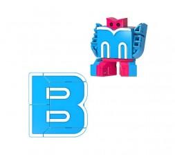 Letrabots Combo Big Robot ADE | B Byonic