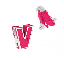 LetrAnimal Fluo Collection Vicky