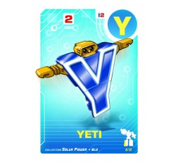 Letrabots Combo Big Robot ZUR | Y Yeti