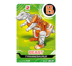 LetrAnimal Fluo Collection Beast