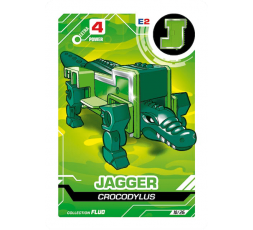 LetrAnimal Fluo Collection Jagger