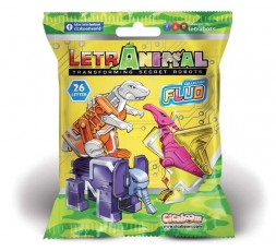 LetrAnimal Fluo Collection Crest