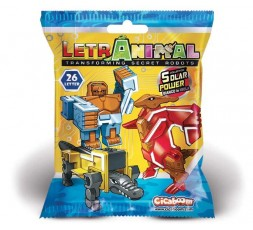 LetrAnimal Solar Power Collection Beast