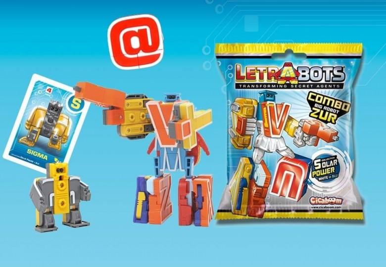 Letrabots Combo Big Robot ZUR | Shop Cicaboom