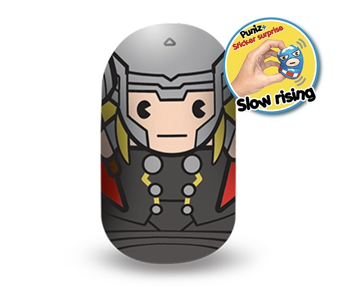 Marvel Puniz Squishy Battle | Thor