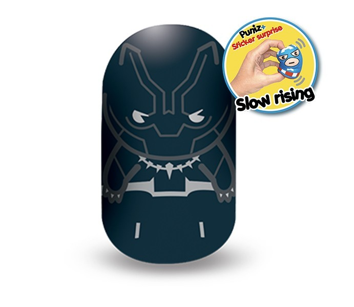 Marvel Puniz Squishy Battle | Black Panter