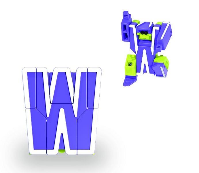 Letrabots Planet White | W Watt