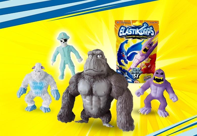 Elastikorps monstres jouets | Cicaboom Shop