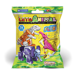 LetrAnimal Fluo Collection-bustine
